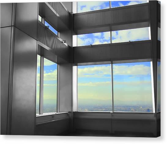 Windows To Tokyo Canvas Print