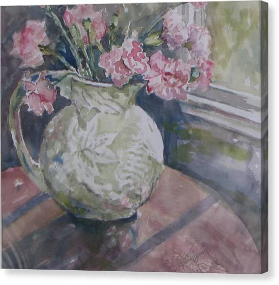 Windowview Canvas Print by Dorothy Herron