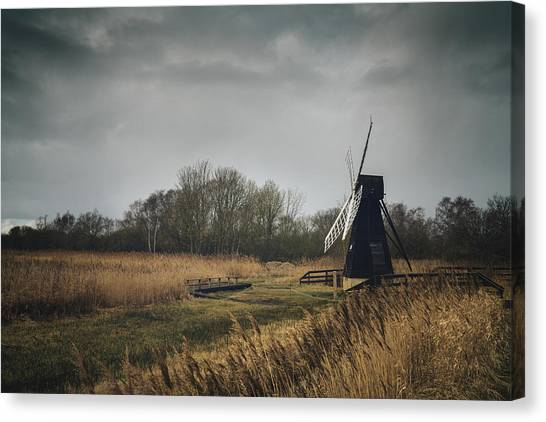Windpump Canvas Print