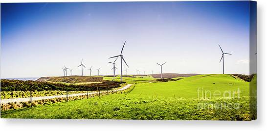 Energy Canvas Print - Winds From West Woolnorth by Jorgo Photography - Wall Art Gallery