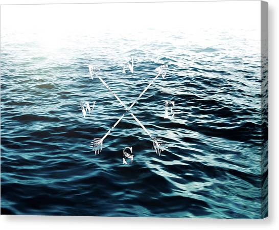 Waves Canvas Print - Winds Of The Sea by Nicklas Gustafsson