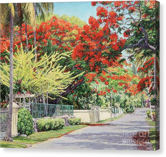 Windsor Avenue Canvas Print