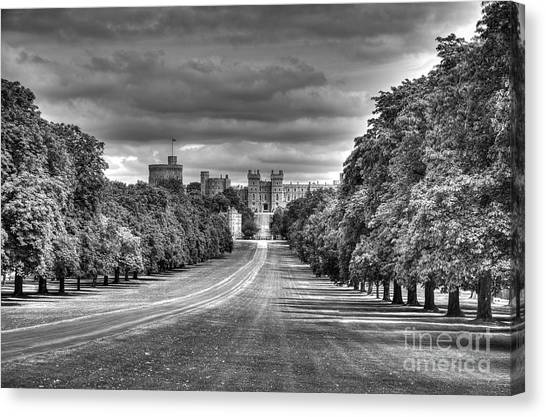 Windsor Castle  Infrared Canvas Print