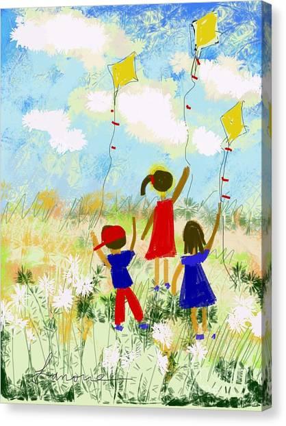 Windy Days Canvas Print