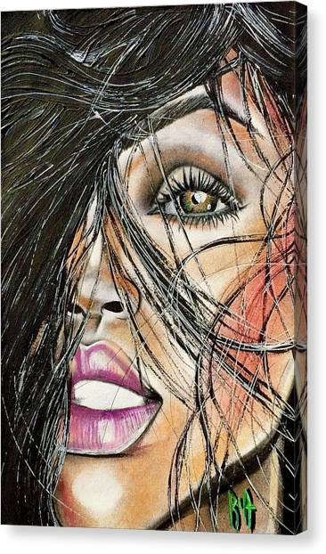 Canvas Print - Windy Daze by Artist RiA