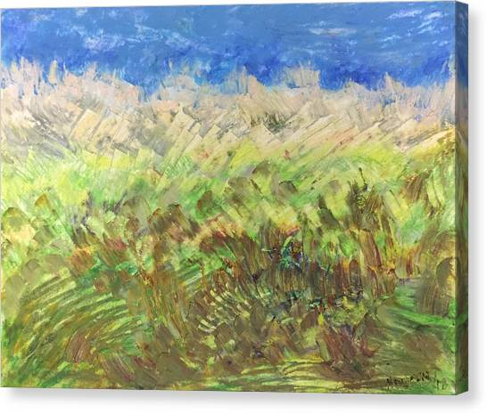 Windy Fields Canvas Print