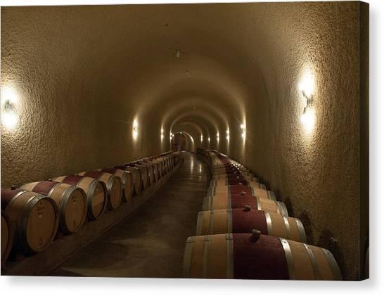 Wine Cave-3 Canvas Print