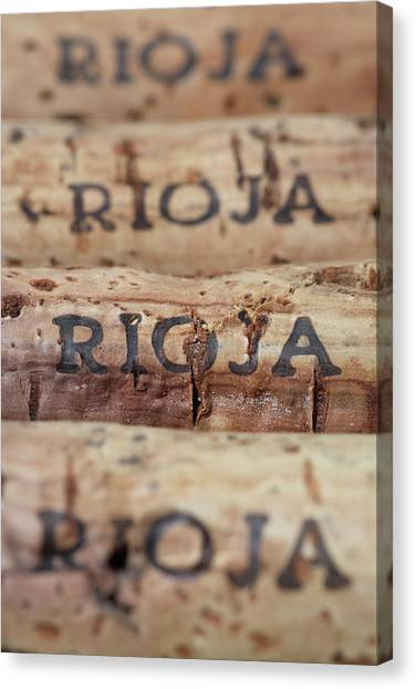 Wine Corks From Rioja Canvas Print by Frank Tschakert
