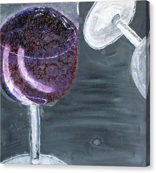 Wine From The Vine To The Glass Canvas Print