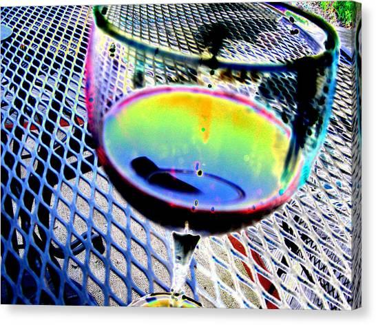 Wine Horizontal Canvas Print by Peter  McIntosh