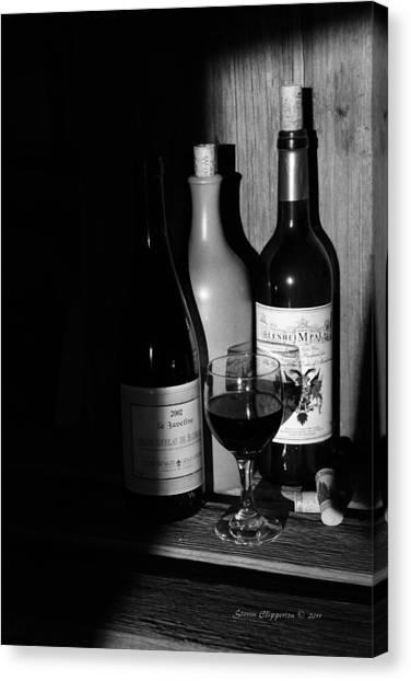 Wine Sampling Canvas Print