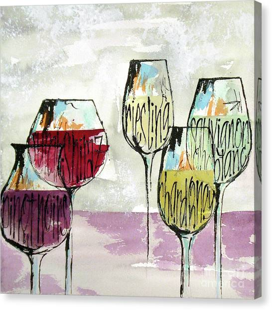 Canvas Print - Wine Snob 1 by Chris Paschke