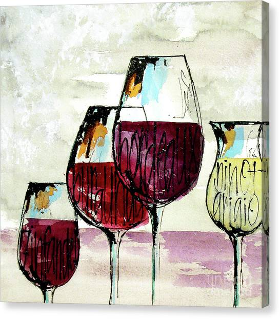 Canvas Print - Wine Snob 2 by Chris Paschke