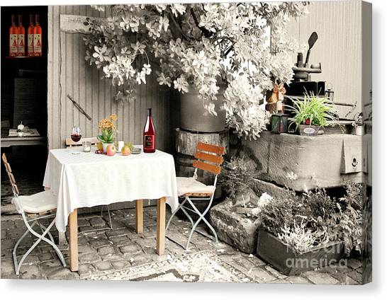 Winelover's Place Canvas Print