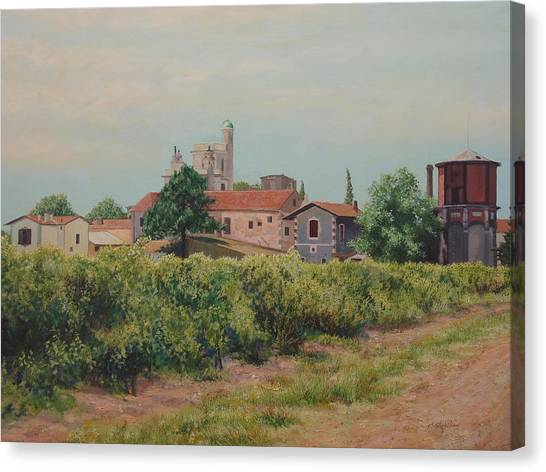 Winery In Provence Canvas Print
