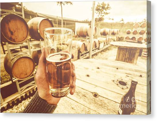 Cellar Canvas Print - Winery Tours Tasmania by Jorgo Photography - Wall Art Gallery