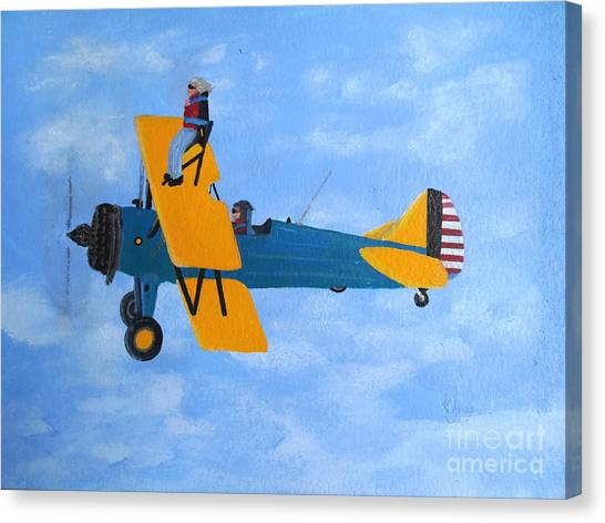Wing Walker Canvas Print