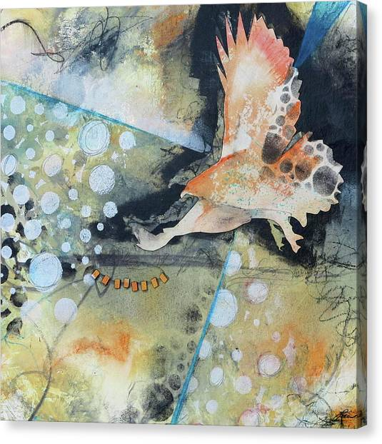 Canvas Print - Wings And A Prayer by Laura Lein-Svencner