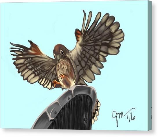 Wings. II Canvas Print