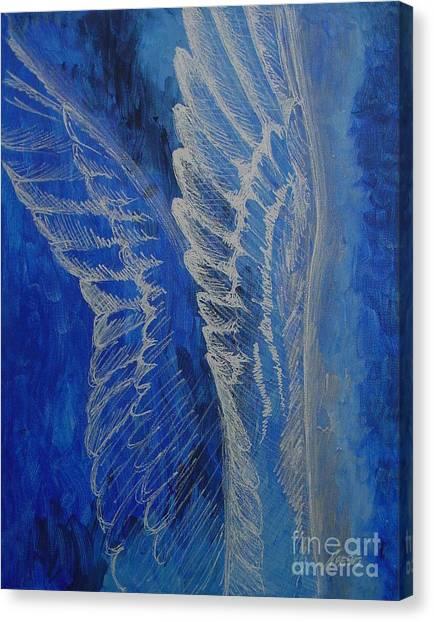 Wings Of Angel Canvas Print