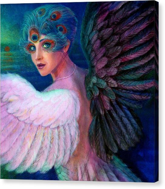 Wings Of Duality Canvas Print