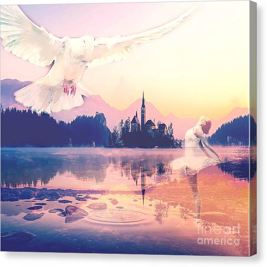 Wings Of Grace Canvas Print