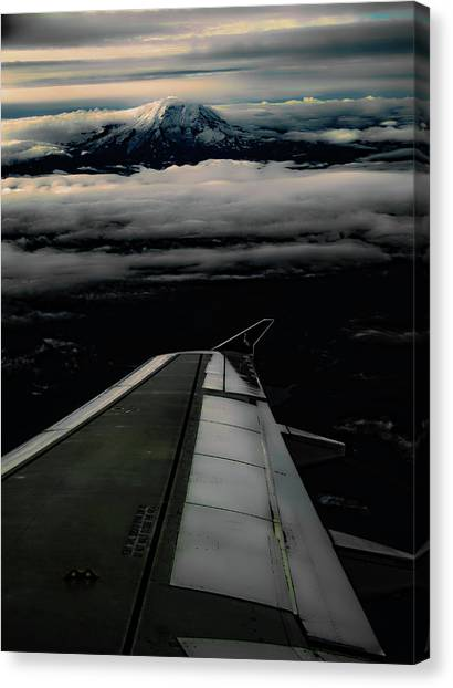 Wings Over Rainier Canvas Print
