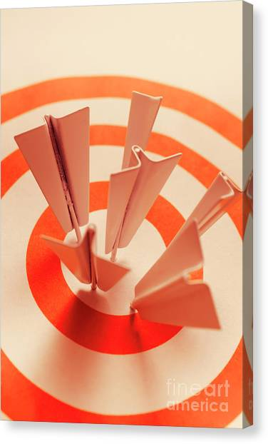 Flight Canvas Print - Winning Strategy by Jorgo Photography - Wall Art Gallery