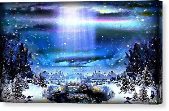 Winter Dream Land Canvas Print