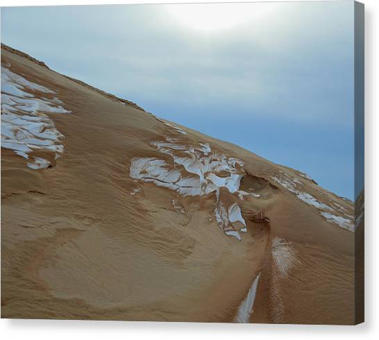 Winter Dune Canvas Print