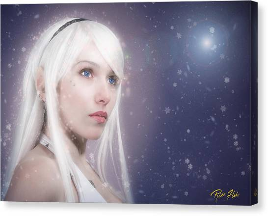 Winter Fae Canvas Print