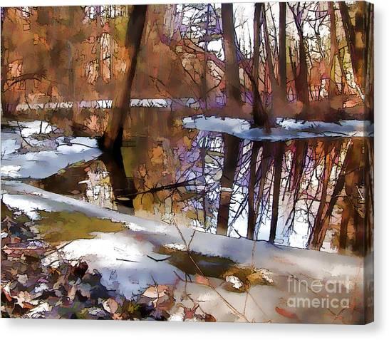 Winter Farewell Canvas Print