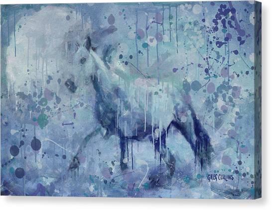 Winter Flurry Canvas Print