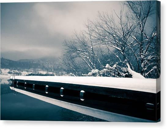 Winter Idyl Canvas Print by Luka Matijevec