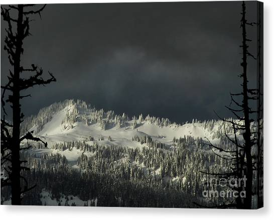 Winter In North Cascades Canvas Print
