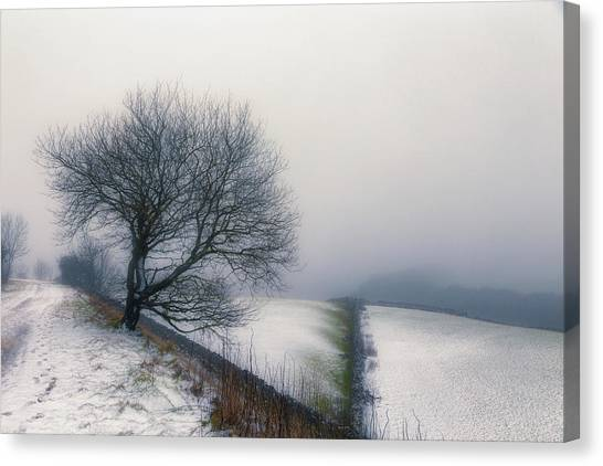 Peak District Canvas Print - Winter In The Peaks No 6 by Chris Fletcher