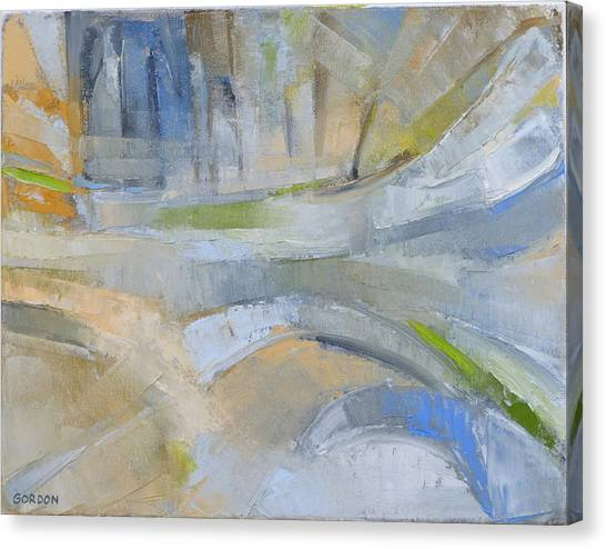 Canvas Print - Winter Light 1 by Kim Gordon