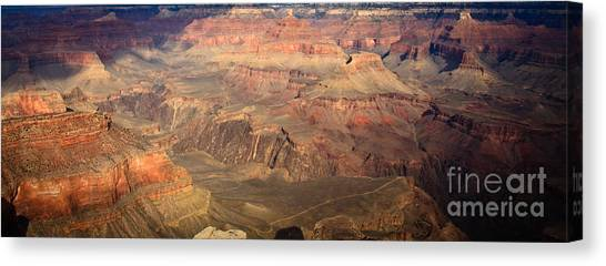 Winter Light In Grand Canyon Canvas Print