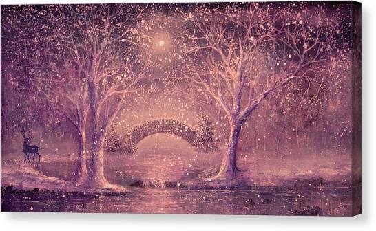 Winter Magic Canvas Print by Ann Marie Bone