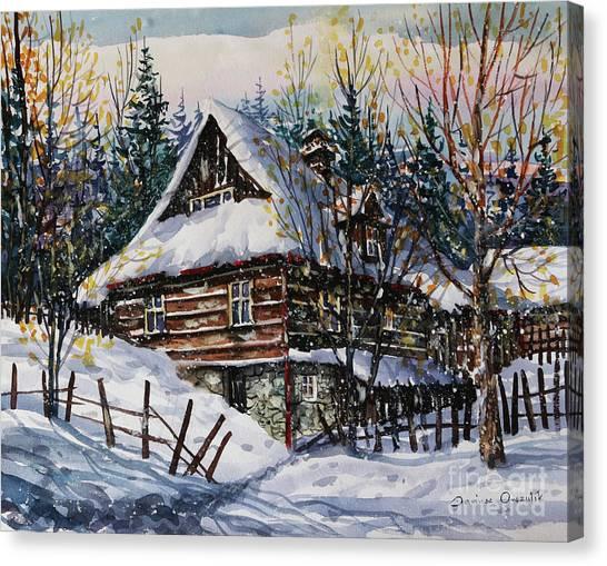 Winter Magic II  Canvas Print