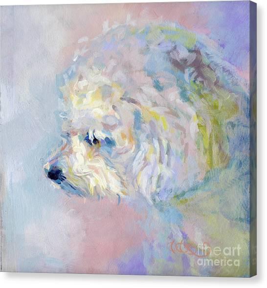 Lavendar Canvas Print - Winter Mickee by Kimberly Santini