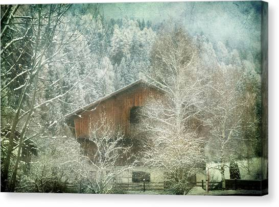 Winter Mood Canvas Print