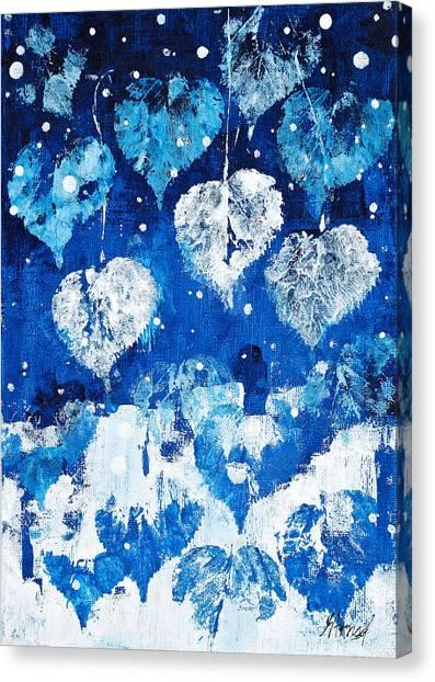 Winter Nature Canvas Print
