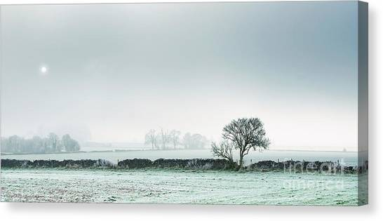 Winter On The Mendips Canvas Print