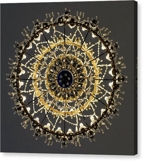 Winter Palace 2 Canvas Print