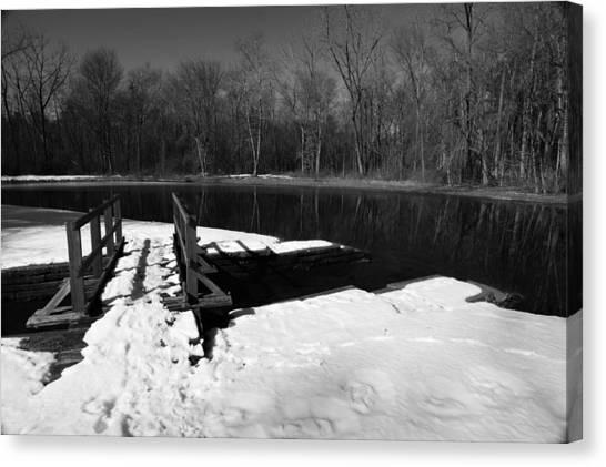 Winter Park 2 Canvas Print