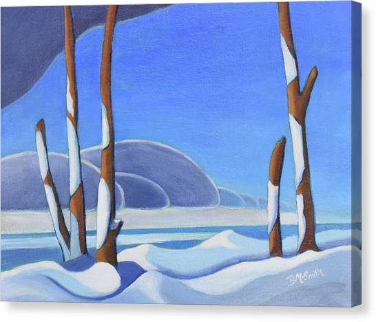 Winter Solace II Canvas Print