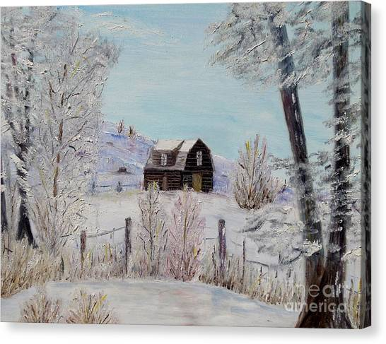 Winter Solace Canvas Print