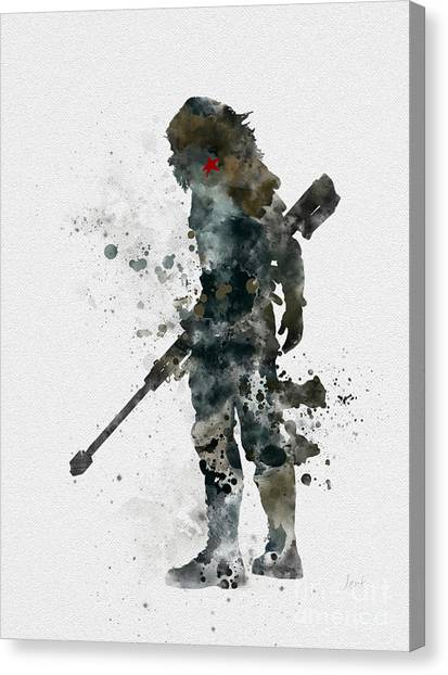 Winter Canvas Print - Winter Soldier by My Inspiration