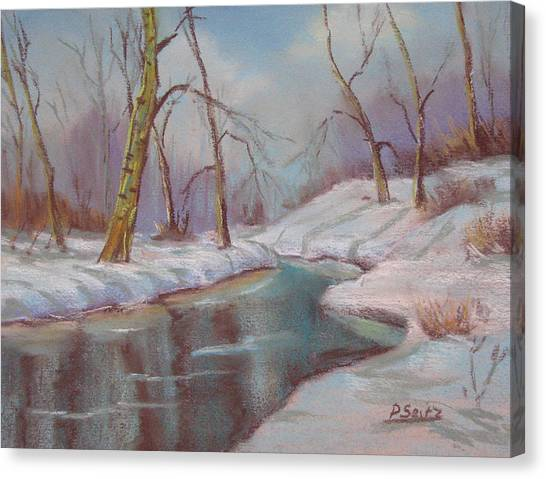 Winter Solstice Canvas Print by Patricia Seitz